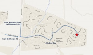Midstream Estate directions