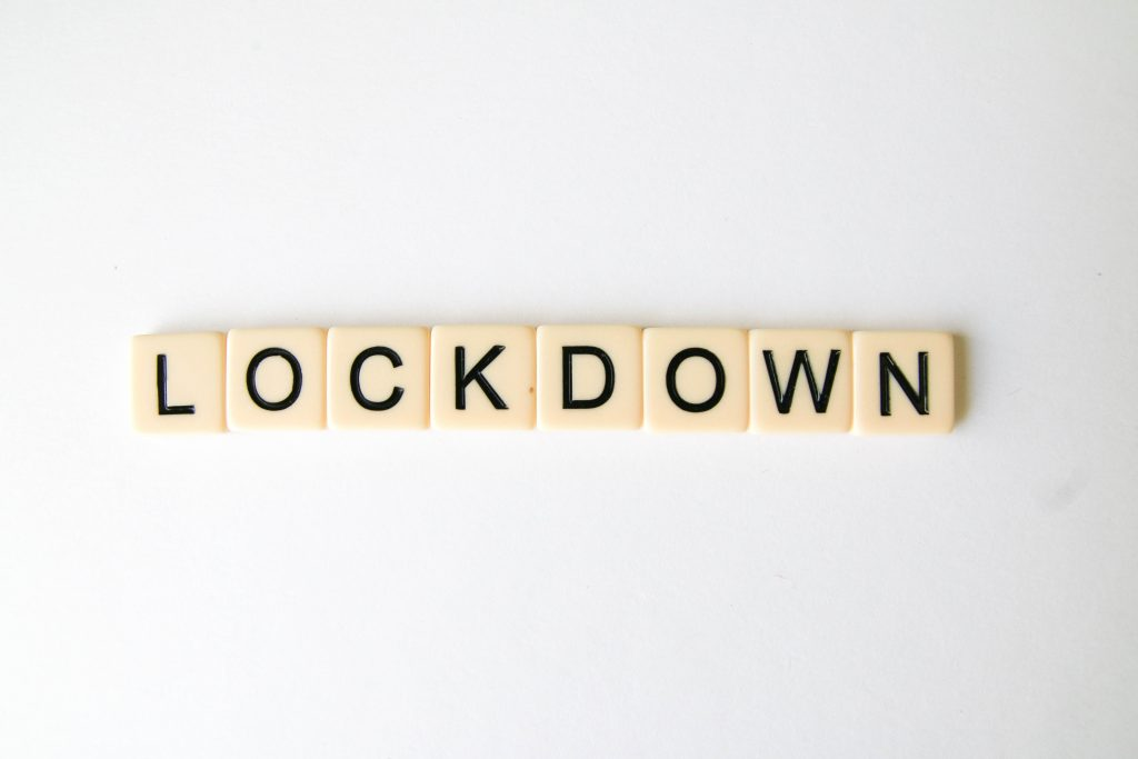 Regain control of your life during COVID-19 lockdown
