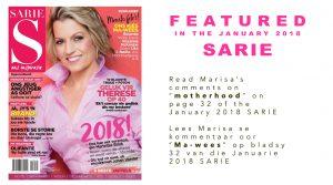 Dr. Marisa van Niekerk Educational Psychologist from Midstream featured in SARIE magazine